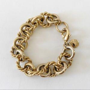 JCrew Chain Link Statement Bracelet